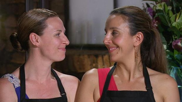 <i>My Kitchen Rules</i>: Smug Aussie (SA) mums Bree and Jessica are the proud parents to triplets (or what most would ...