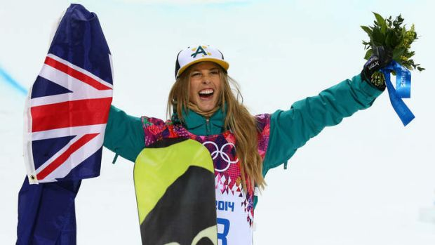"""""""This is the perfect opportunity"""": Halfpipe silver medalist Torah Bright."""