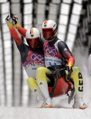 """Germany is on the top of the world in luge. It's our sport"": German Luger Tobias Arlt."