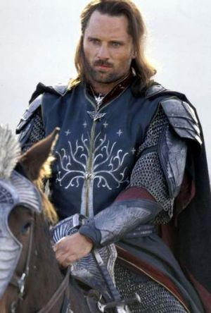 Viggo Mortensen as Aragorn in <i>The Return of the King</i>.