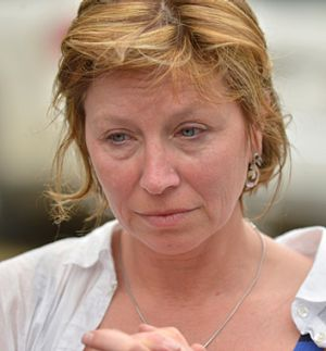 Rosie Batty talks to the media about her son and his troubled father who killed him.