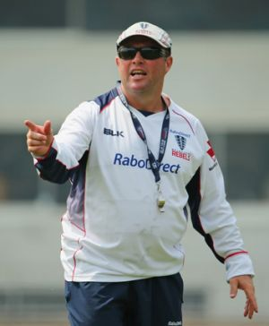 Melbourne Rebels coach Tony McGahan wants to see how his charges cope with real pressure.