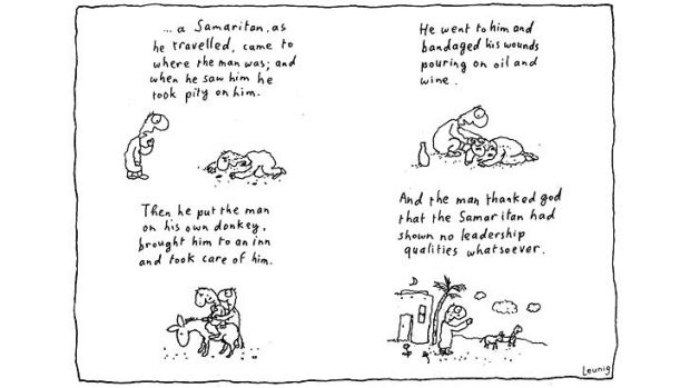 Illustrations: Michael Leunig.