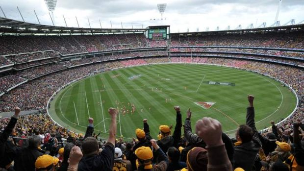 Sacred ground: The MCG is Melbourne's greatest and proudest landmark.