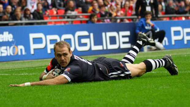 New Zealand winger Jason Nightingale.