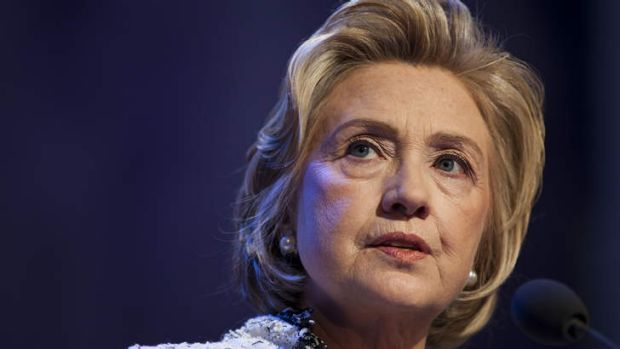 """Former U.S. Secretary of State Hillary Clinton, described as a """"devoted mother"""" and """"cutthroat strategist""""."""