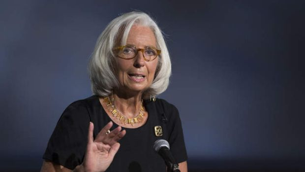 No climate for role change: IMF chief Christine Lagarde.