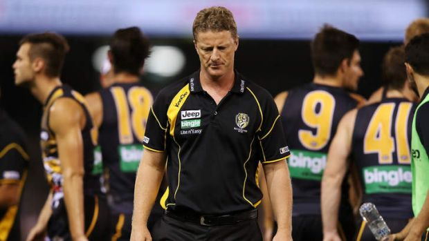 'I probably think we can cut some people some slack at certain stages because they're easy targets' said Damien Hardwick.