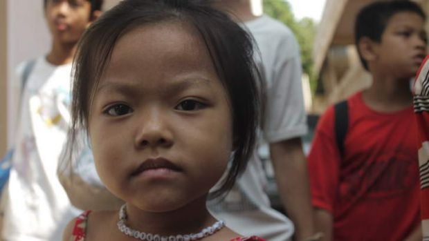 Cash for cuddles: 'Orphanage tourism' is big business in Cambodia.
