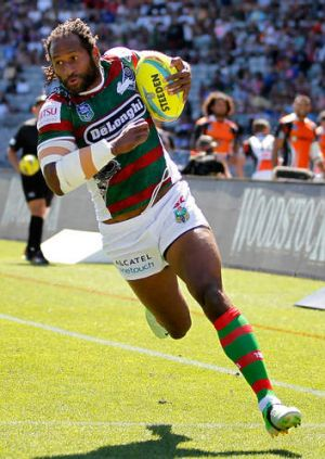 Lote Tuqiri of the Rabbitohs.