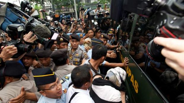 The media circus that followed Schapelle Corby's release.