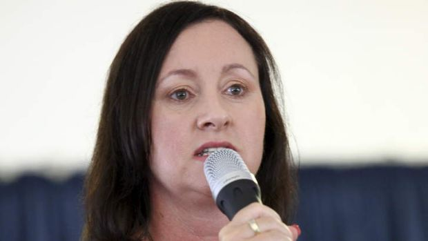 ALP candidate for the Redcliffe State by-election Yvette D'Ath