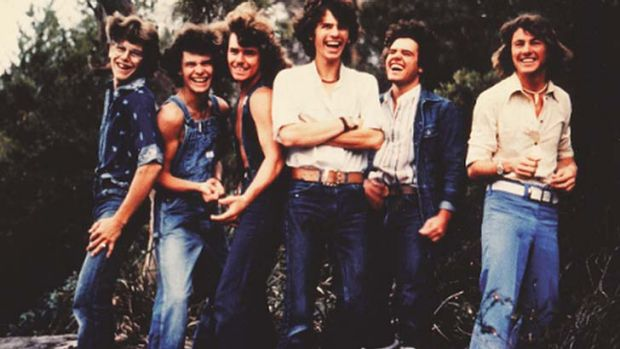 Rock'n'roll history: One of the earliest photos of INXS, then known as the Farriss Brothers, circa 1978.