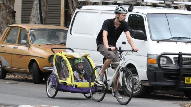 Bicycle child carriers are becoming increasingly popular.