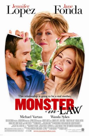 Late penalty: <em>Monsters-in-Law</em>.