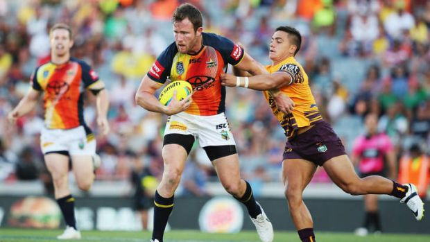 All stars: Gavin Cooper in action during his side's win in the inaugural Auckland Nines final.  The successful preseason ...