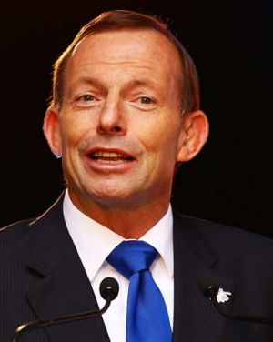 Bounces back in the polls: Prime Minister Tony Abbott.