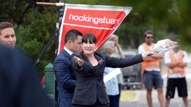 Hocking Stuart auctioneer Joanne Royston sold 18 Rosshire Road, Newport, for $885,000.