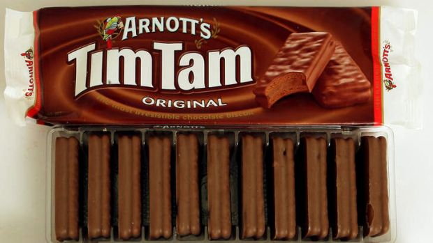 Challenged: Once-mighty Tim Tam.