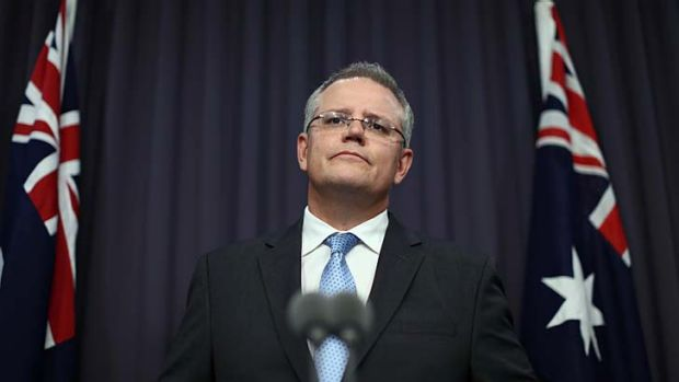 Immigration Minister Scott Morrison: the government's asylum seeker policy is under fire.