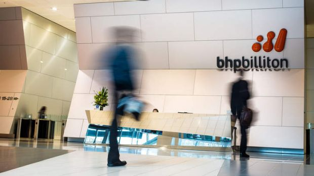 BHP Billiton headquarters in Melbourne.