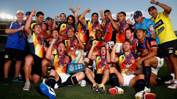 Cheers and fears: North Queensland won the inaugural Auckland Nines, but there are concerns about an already jam-packed ...