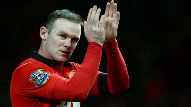 Decision time: Manchester United's English striker Wayne Rooney.