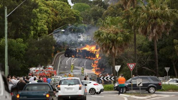 A fatal truck crash in Mova Vale last year has cost transport group McAleese millions.