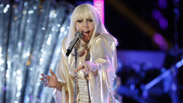The lady is a vamp ... Gaga has announced her Australian tour.