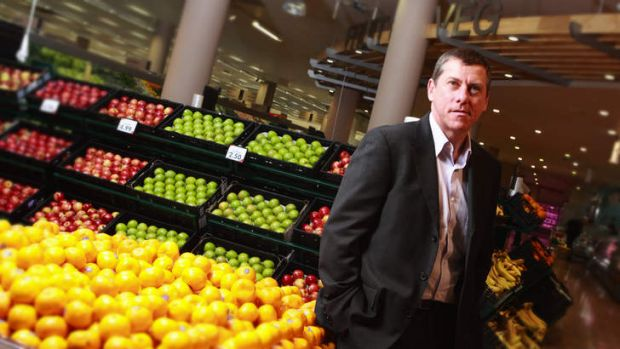 Coles managing director Ian McLeod is moving to a position in the Westfarmers group.