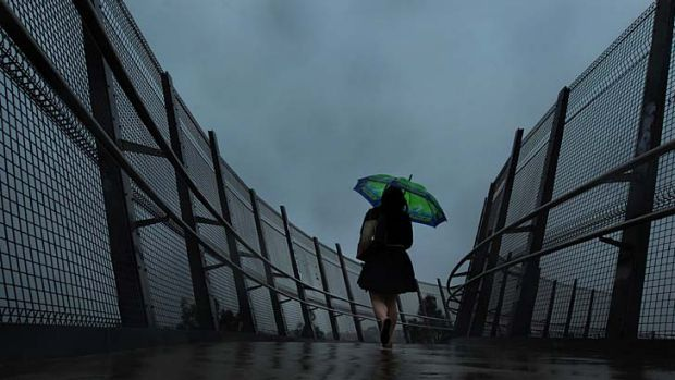Stormy weather: the state copped a soaking on Wednesday.