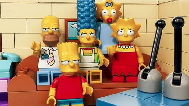 The Simpsons - in Lego form.