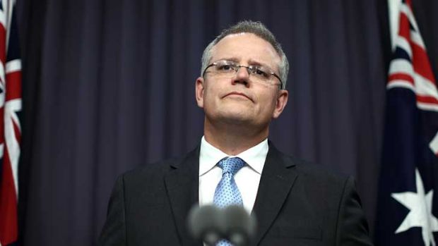 Immigration Minister Scott Morrison: Admits the information he gave on the Manus riot was wrong.