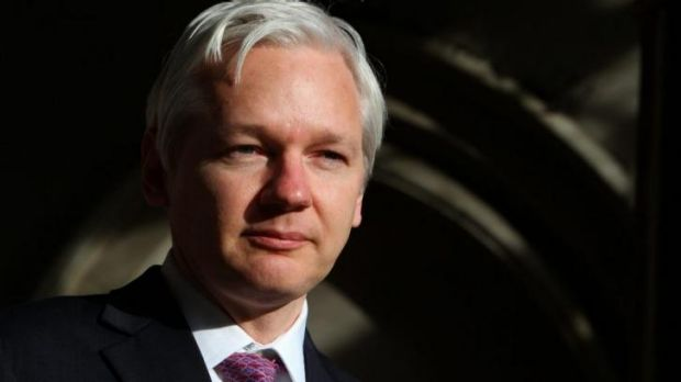"""""""The NSA and its UK accomplices show no respect for the rule of law"""": Julian Assange."""