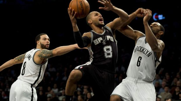 Time to shine: Patty Mills should get more game time in Parker's absence.