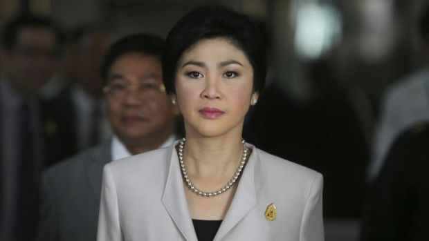 Facing an inquiry: Thai Prime Minister Yingluck Shinawatra.