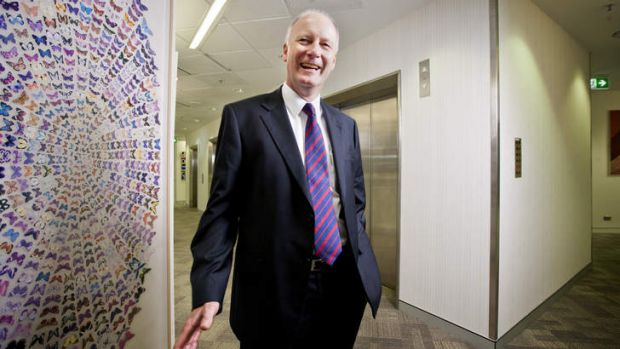 Richard Goyder: economy well placed.