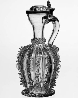 English jug, c.1682, NGV.