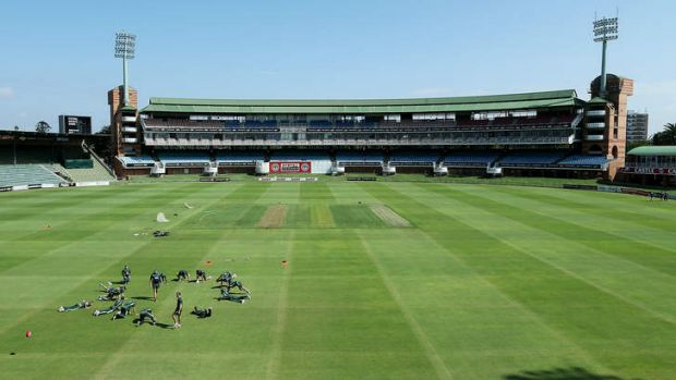 The Port Elizabeth pitch has raised some eyebrows.