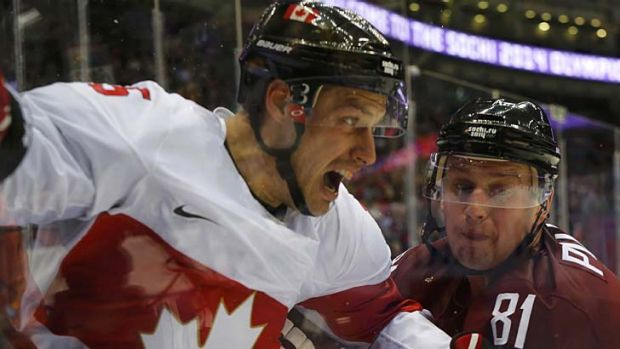 Ice hockey gets tremendous exposure during modern TV coverage of the Olympic Games.
