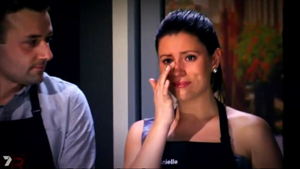 Turning the other beef cheek ... is this goodbye for Josh and Daniella?
