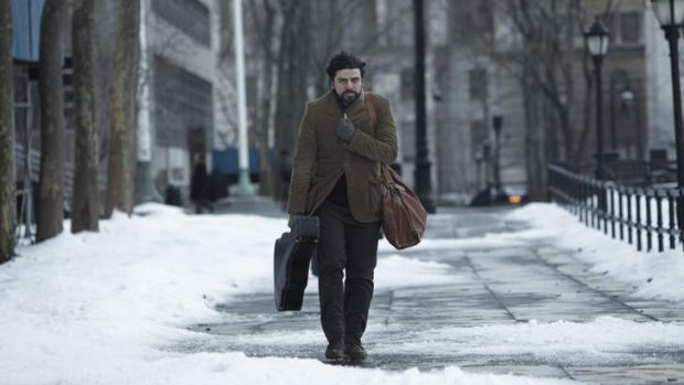 Oscar Isaac in <i>Inside Llewyn Davis</i>. The Coen brothers' movie is the only one of five Oscar nominees for best ...