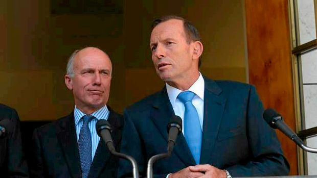 Senator Eric Abetz and Prime Minister Tony Abbott. The government is finalising plans for a sweeping review of the ...
