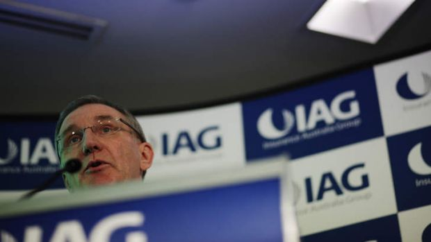 IAG boss Mike Wilkins says the group's underlying margin had more than doubled since the 2009 financial year.