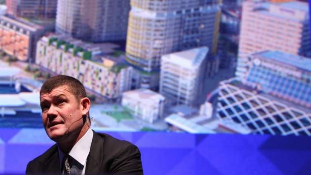 James Packer's Crown Resorts has enjoyed a profit surge despite troubles at its Australian casinos.