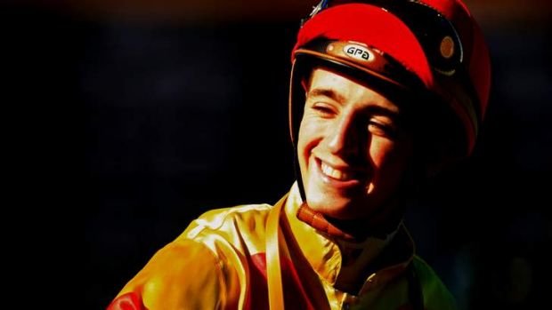 Feeling lucky: Former star apprentice Josh Adams is happy to be back riding after turning his life around.