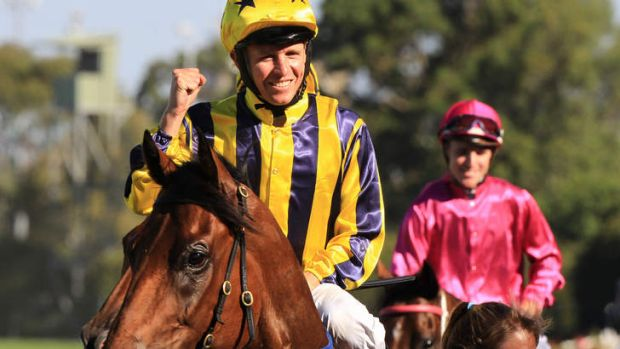 Shot at redemption: Bel Sprinter scores with Kerrin McEvoy up at Rosehill.  He has the chance to break the ...
