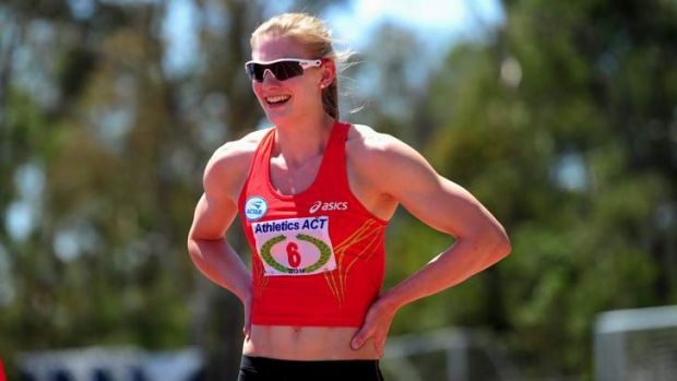 Canberra's Melissa Breen produced a Commonwealth Games A-Qualifying time of 11.31 seconds.
