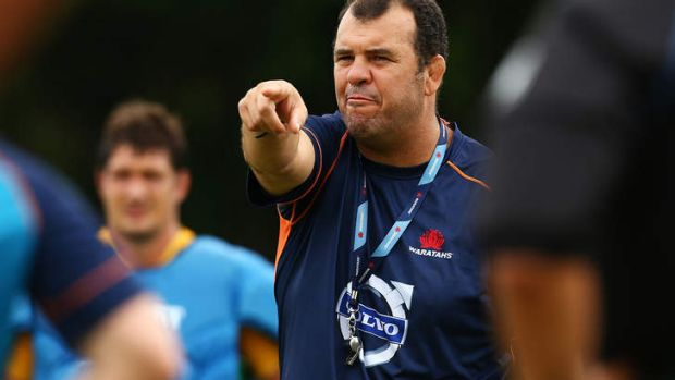 Waratahs coach Michael Cheika is expecting a battle.