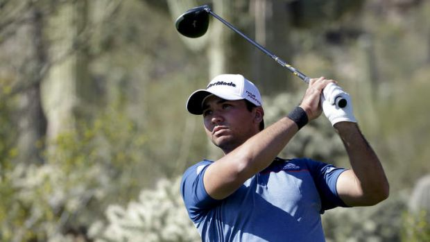 Momentum: Jason Day stormed home in the Match Play Championships in Arizona.